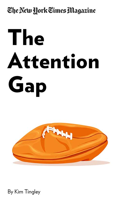 "Book Cover for ""The Attention Gap"""
