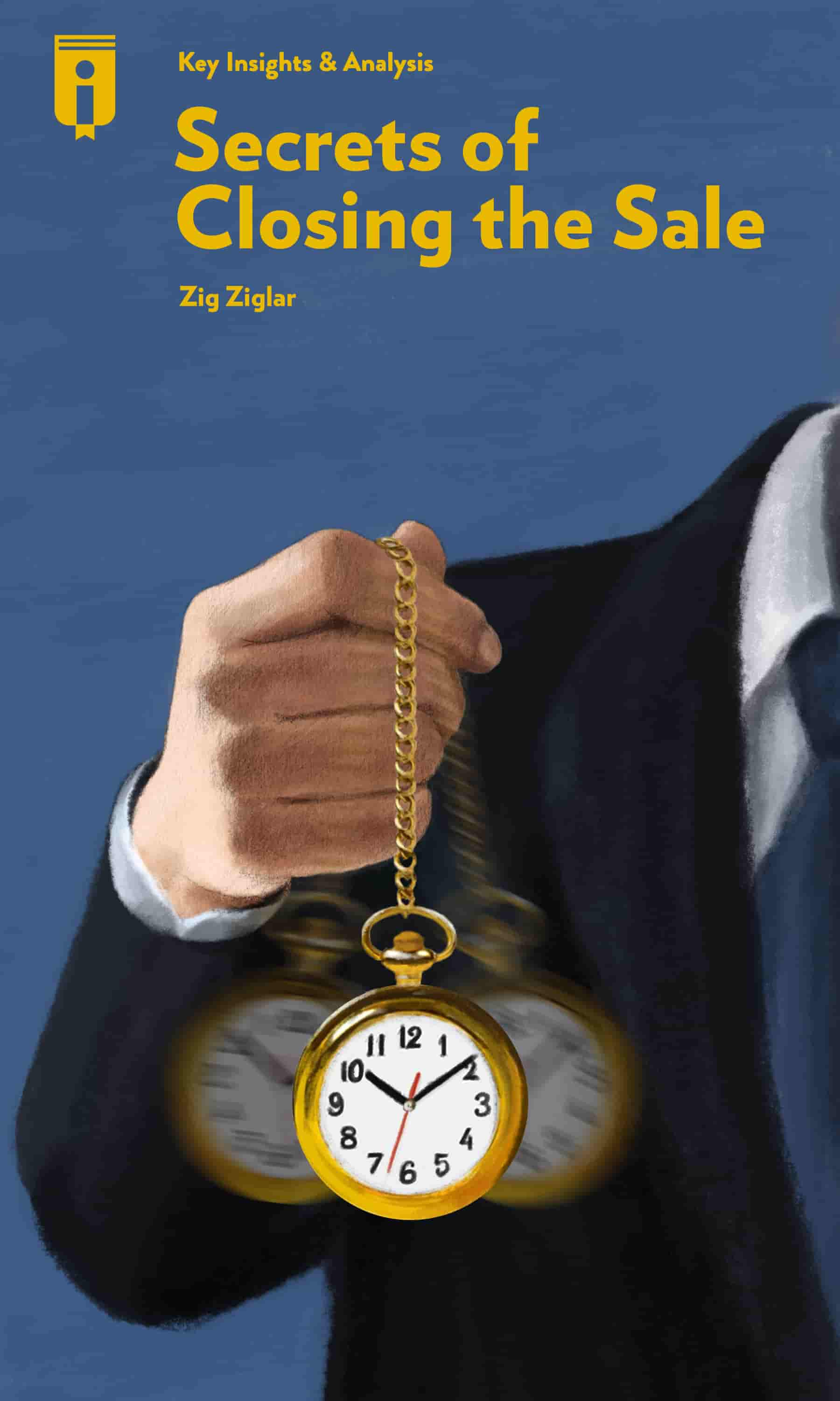 """Book Cover for """"Secrets of Closing the Sale"""""""
