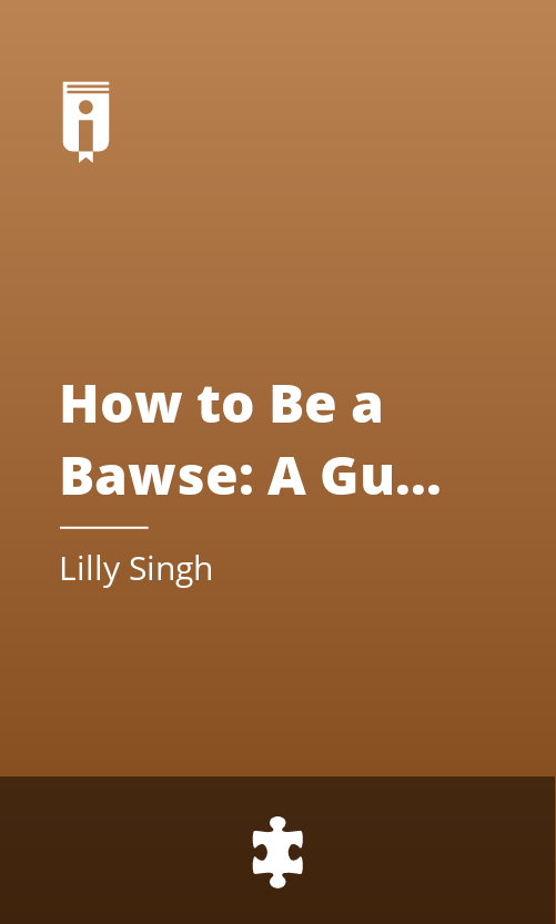 "Book Cover for ""How to Be a Bawse: A Guide to Conquering Life"""