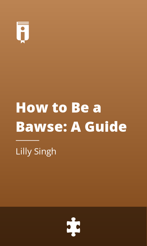 """Book Cover for """"How to Be a Bawse: A Guide to Conquering Life"""""""