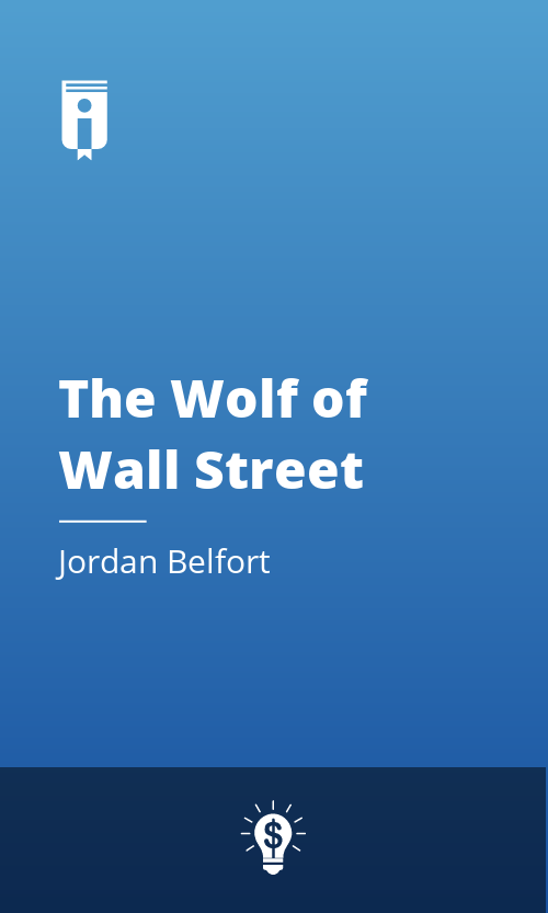 "Book Cover for ""The Wolf of Wall Street"""