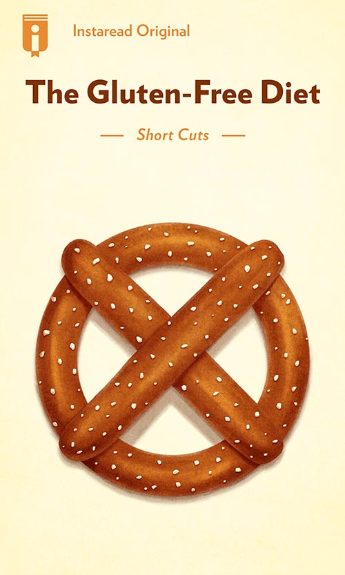 "Book Cover for ""The Gluten-Free Diet"""