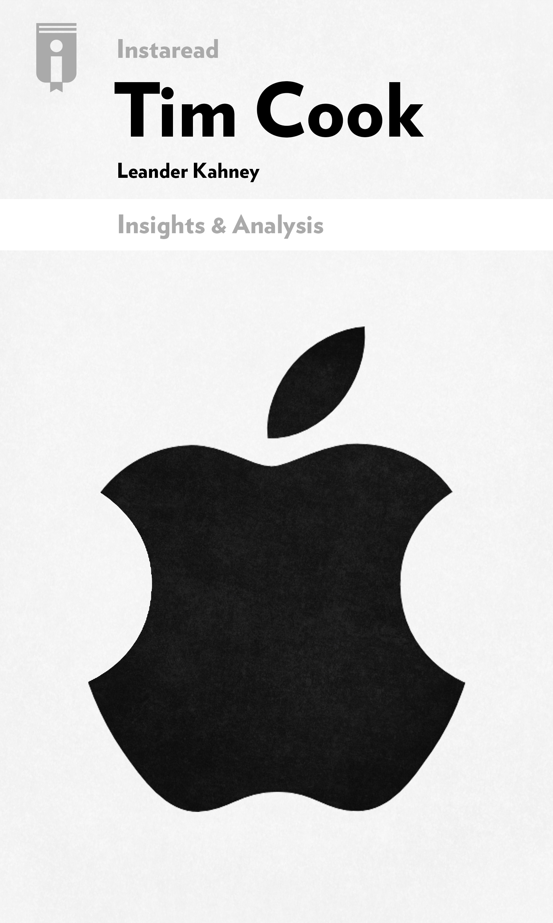 """Book Cover for """"Tim Cook"""""""