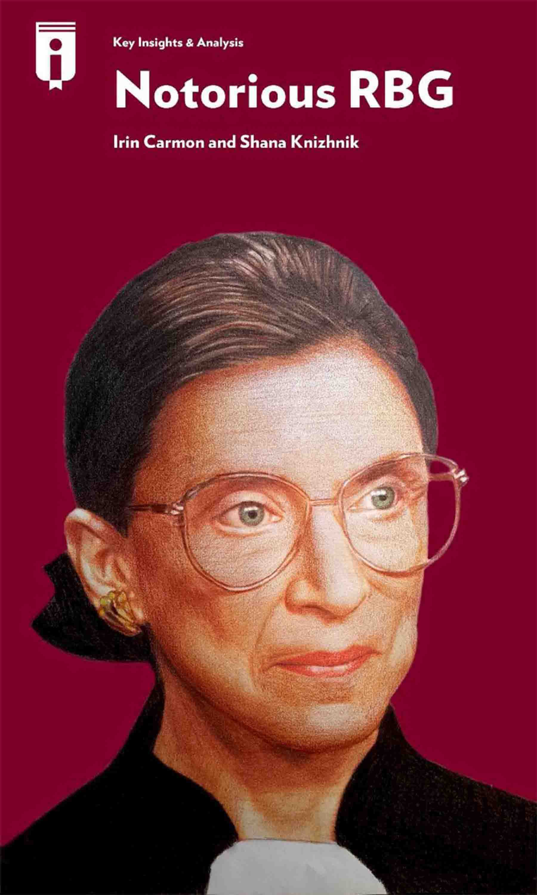 "Book Cover for ""Notorious RBG"""