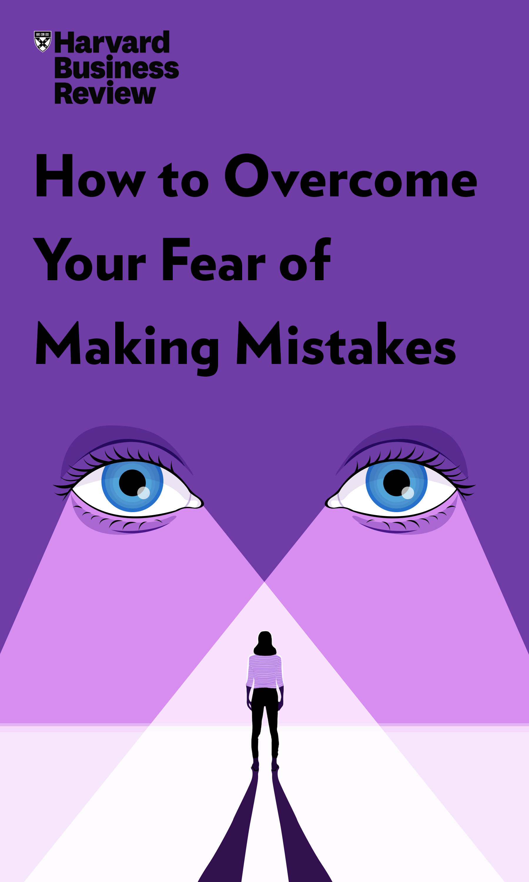 "Book Cover for ""How to Overcome Your Fear of Making Mistakes"""