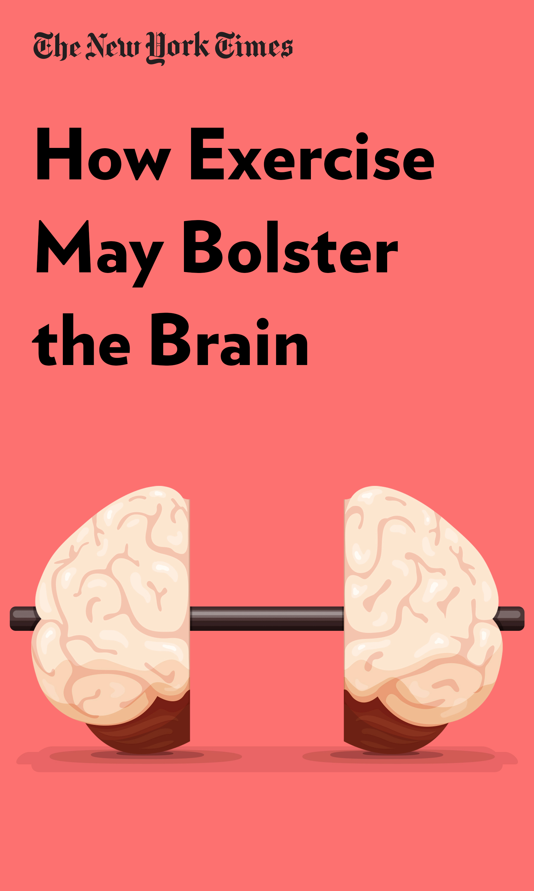 """Book Cover for """"How Exercise May Bolster the Brain"""""""