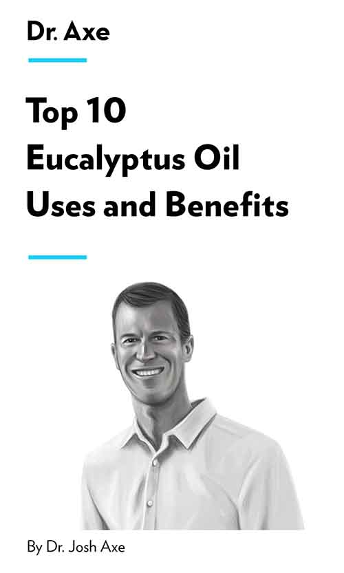 "Book Cover for ""Top 10 Eucalyptus Oil Uses and Benefits"""