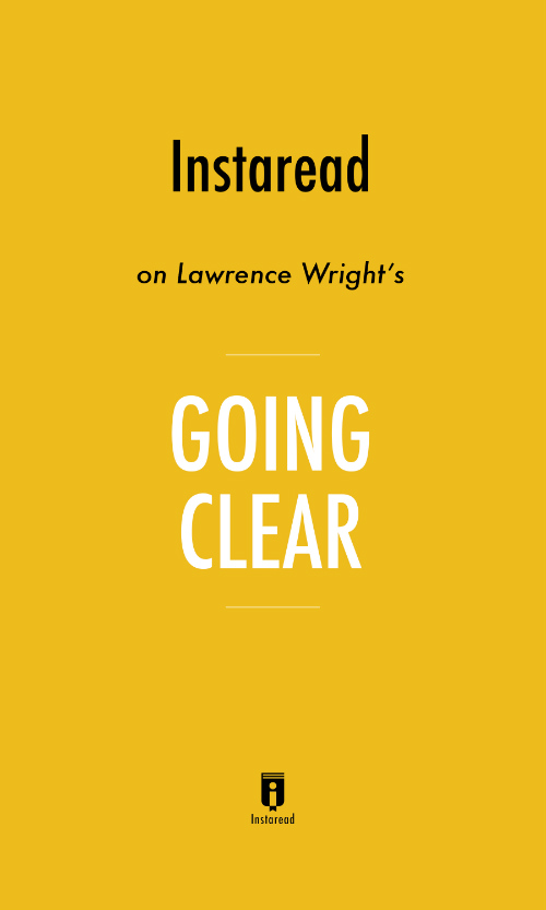 "Book Cover for ""Going Clear"""