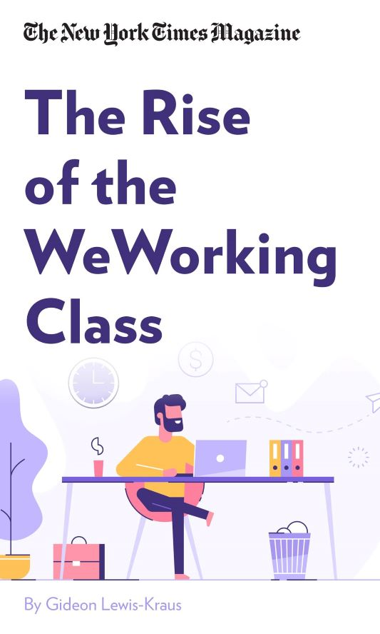 "Book Cover for ""The Rise of the WeWorking Class"""