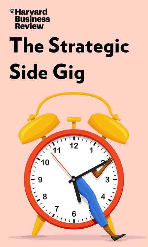 "Book Cover for ""The Strategic Side Gig"""
