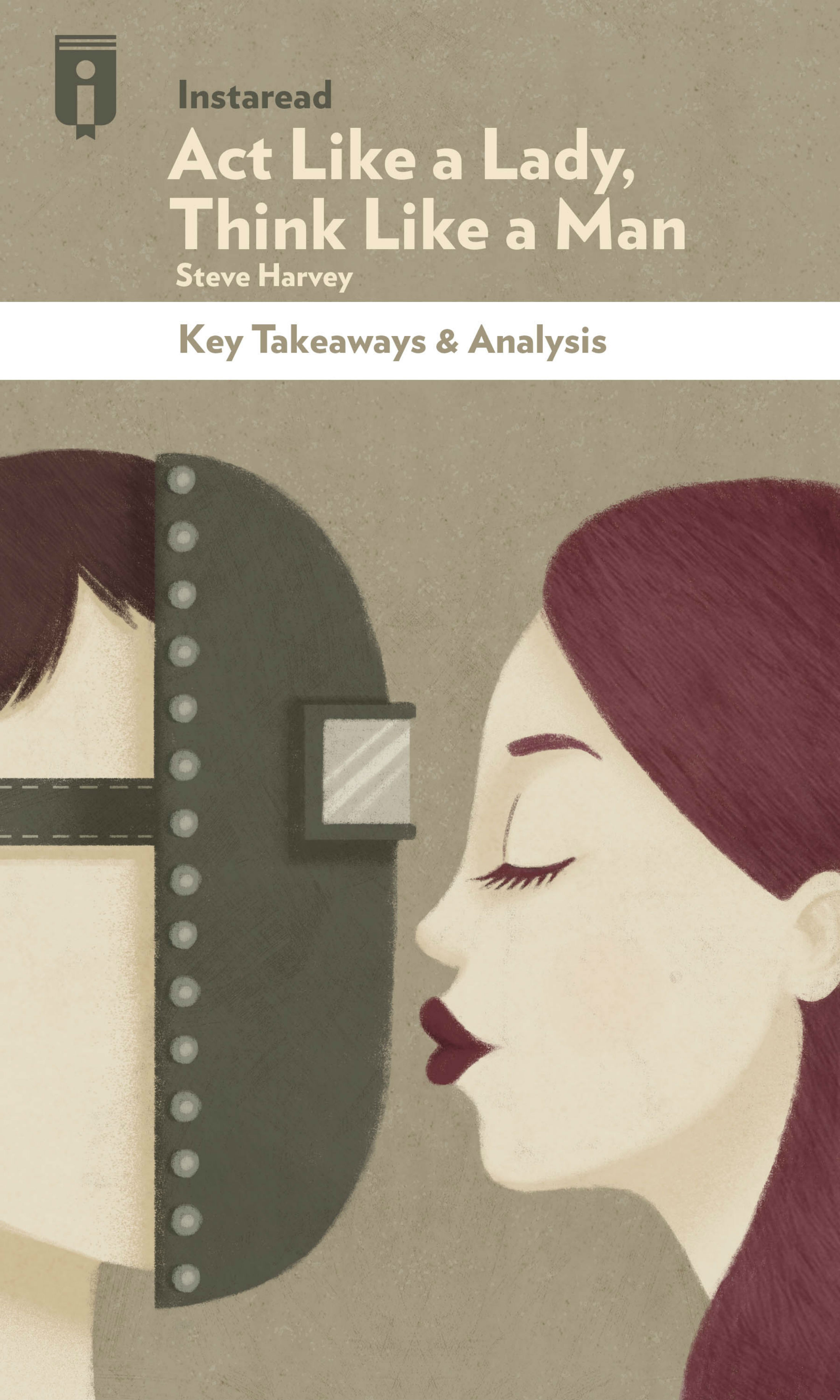 "Book Cover for ""Act Like a Lady, Think Like a Man"""