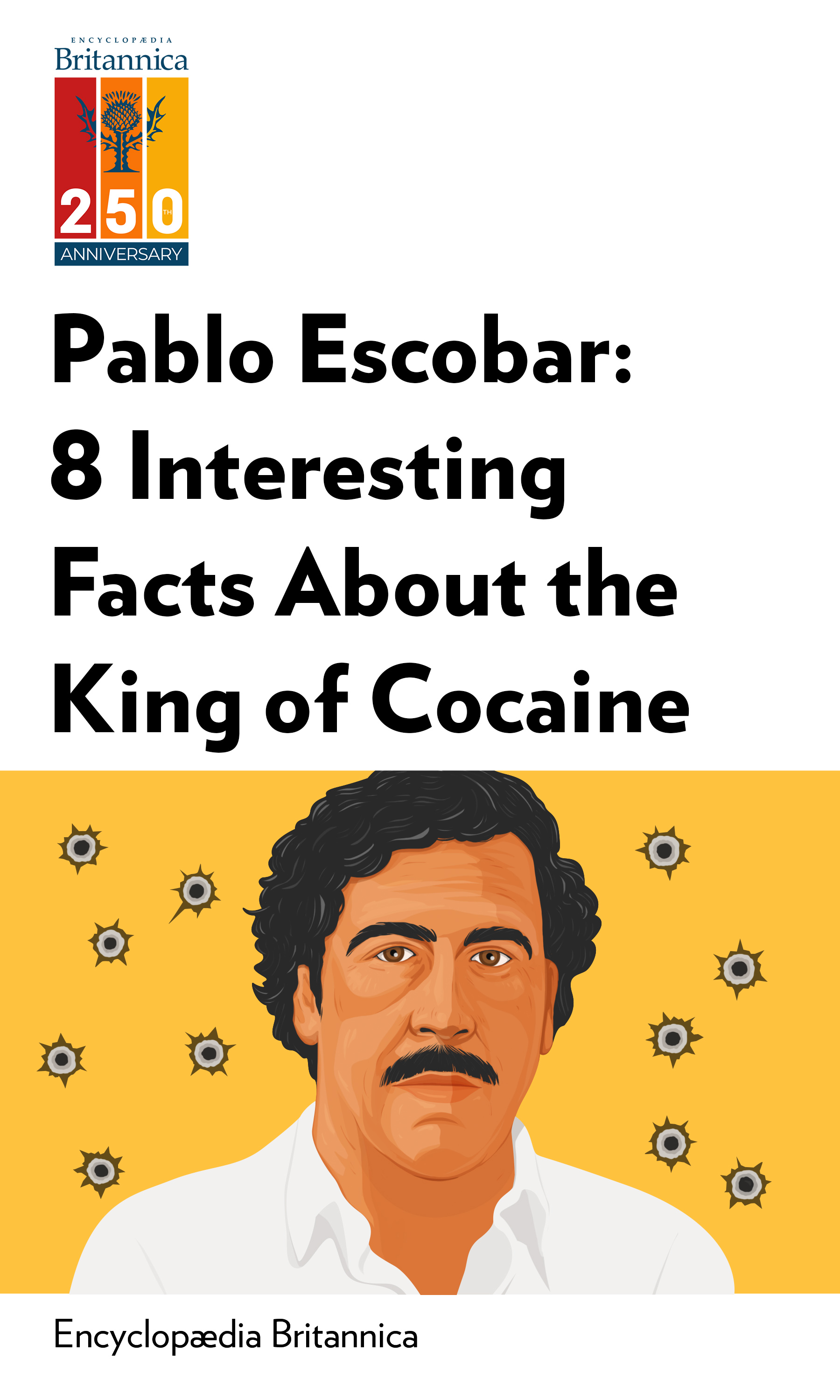 """Book Cover for """"Pablo Escobar: 8 Interesting Facts About the King of Cocaine"""""""