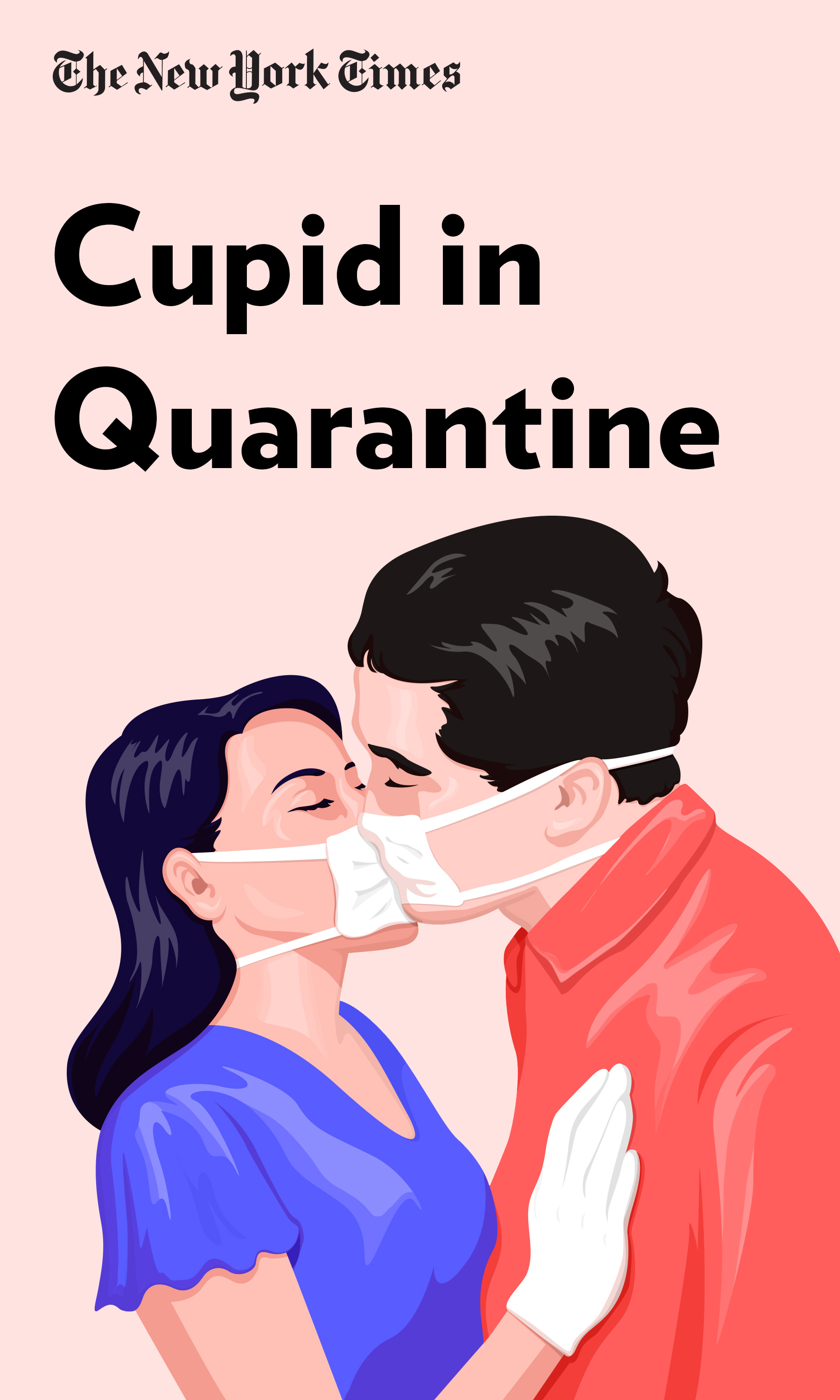 """Book Cover for """"Cupid in Quarantine"""""""