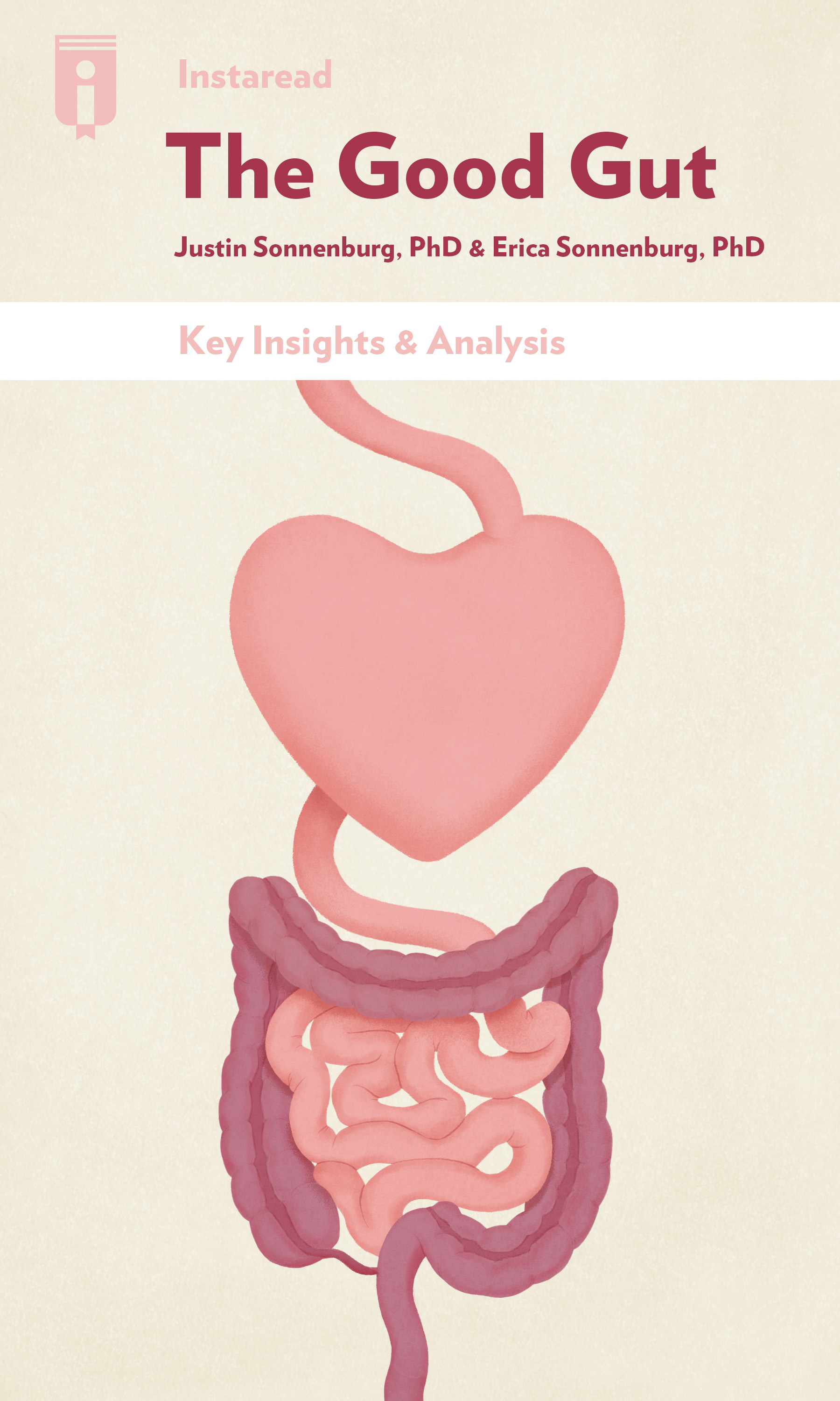 "Book Cover for ""The Good Gut"""