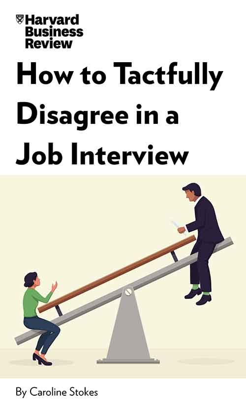 "Book Cover for ""How to Tactfully Disagree in a Job Interview"""