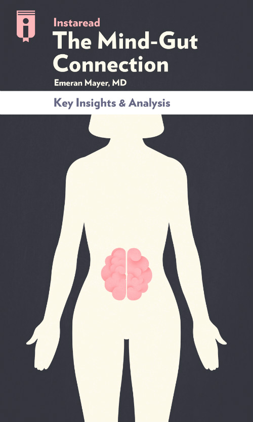 "Book Cover for ""The Mind–Gut Connection"""