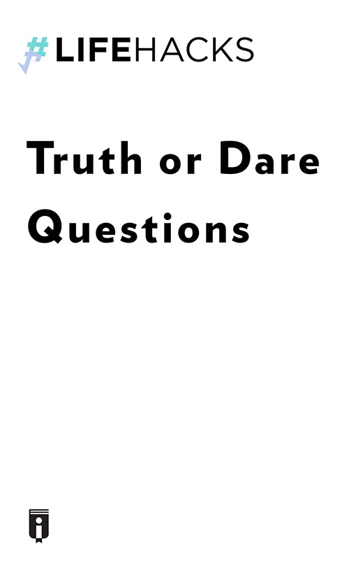 "Book Cover for ""Truth or Dare Questions"""