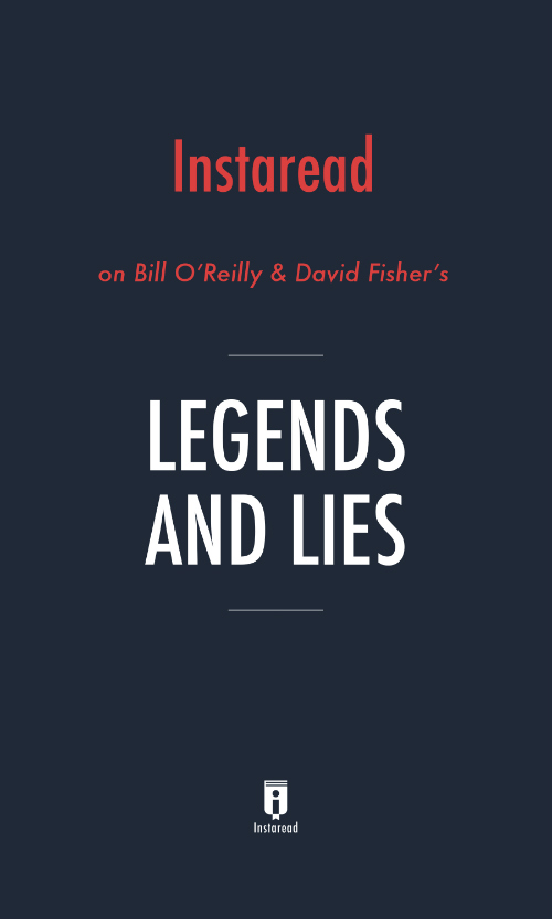 "Book Cover for ""Legends and Lies"""