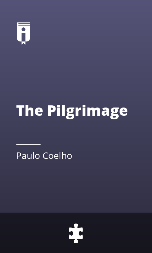 "Book Cover for ""The Pilgrimage"""