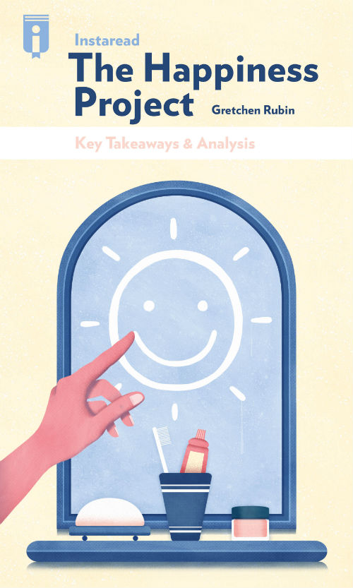 "Book Cover for ""The Happiness Project"""