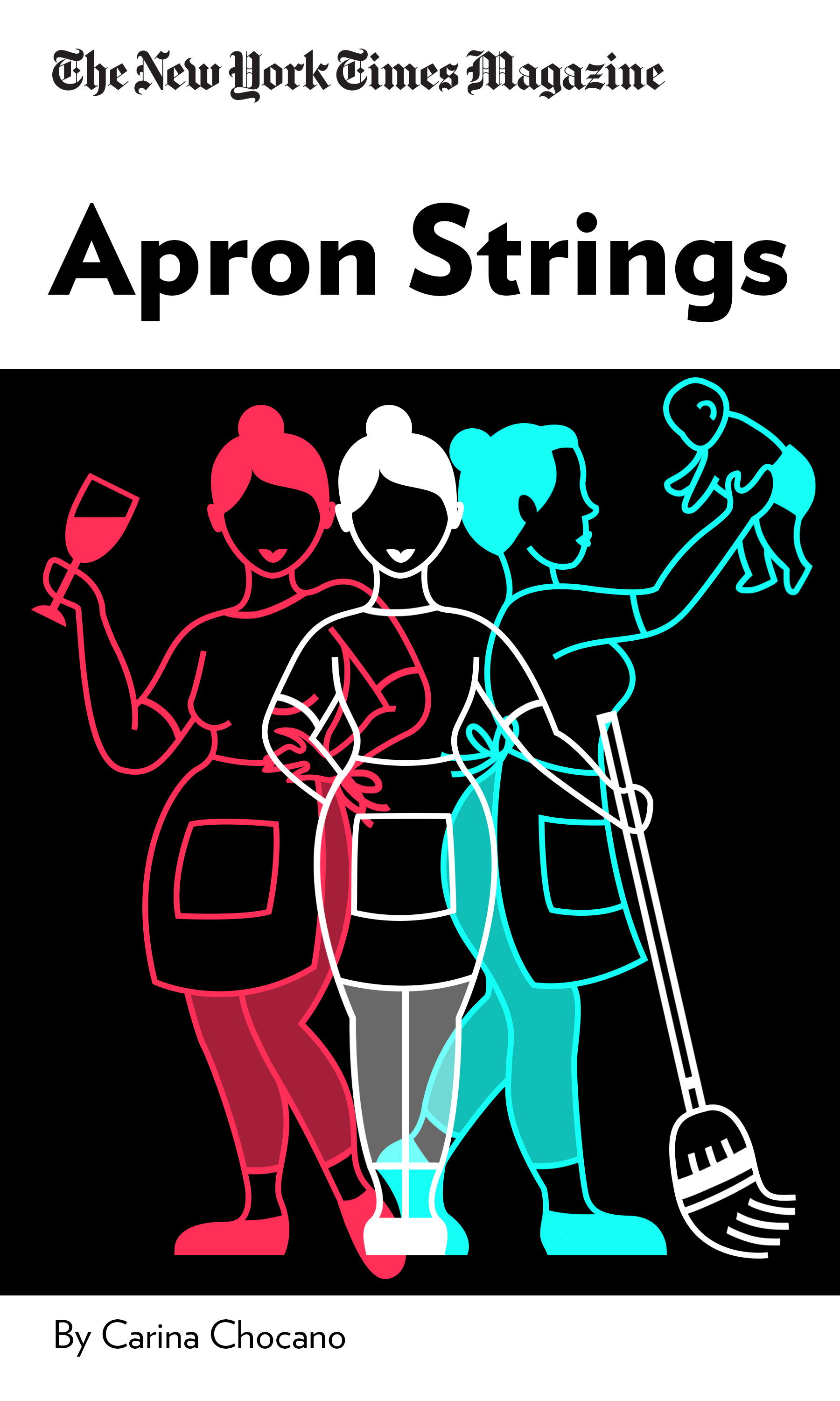 """Book Cover for """"Apron Strings"""""""