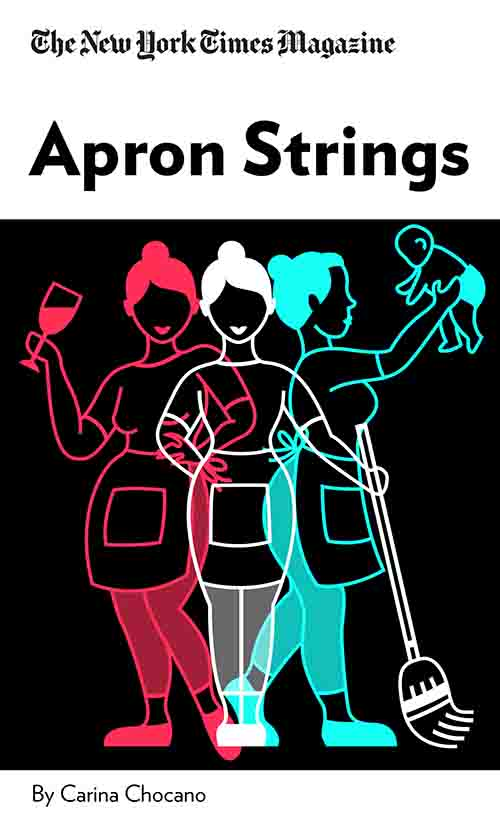 "Book Cover for ""Apron Strings"""