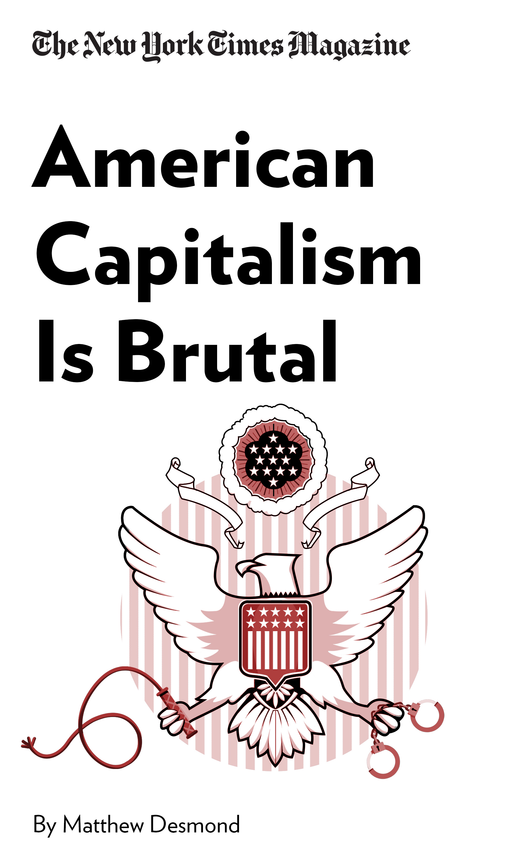"""Book Cover for """"American Capitalism Is Brutal. You Can Trace That to the Plantation"""""""