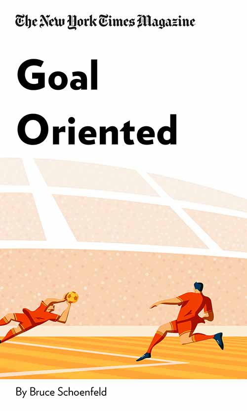 "Book Cover for ""Goal Oriented"""