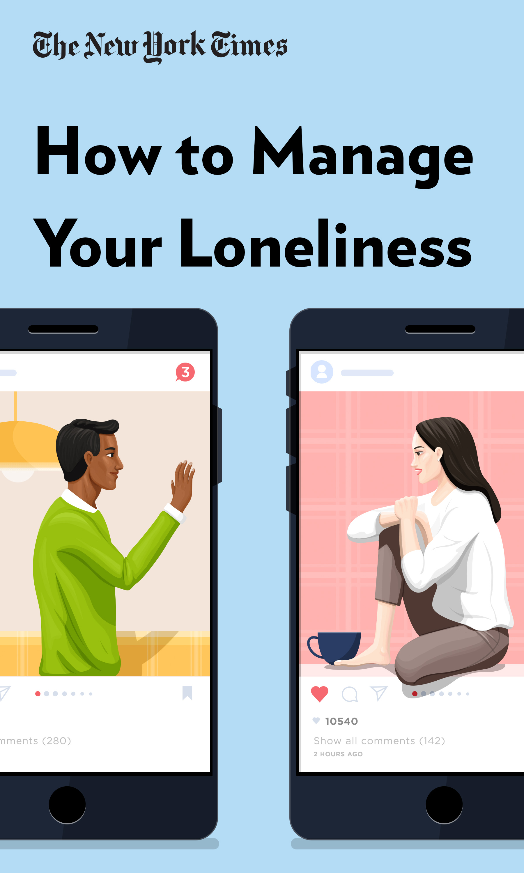 """Book Cover for """"How to Manage Your Loneliness"""""""