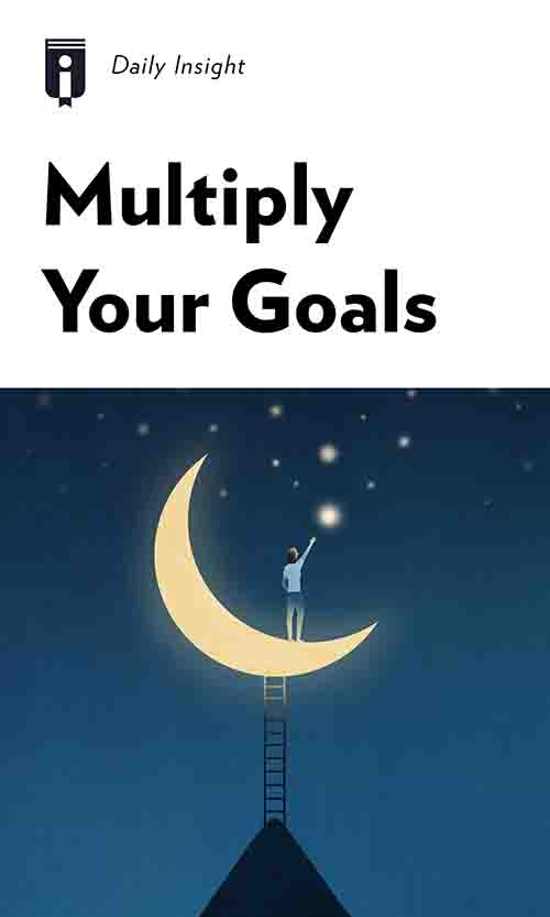 "Book Cover for ""Multiply Your Goals"""