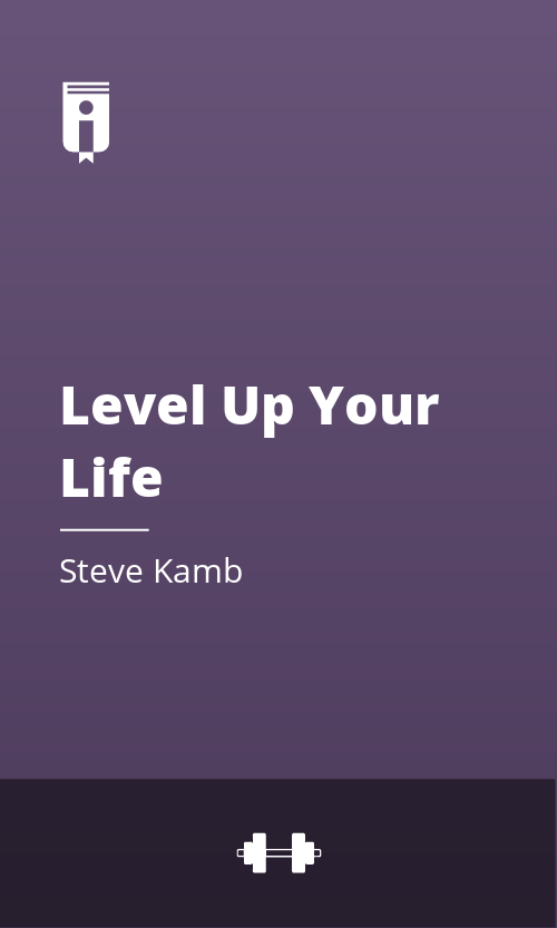 "Book Cover for ""Level Up Your Life"""