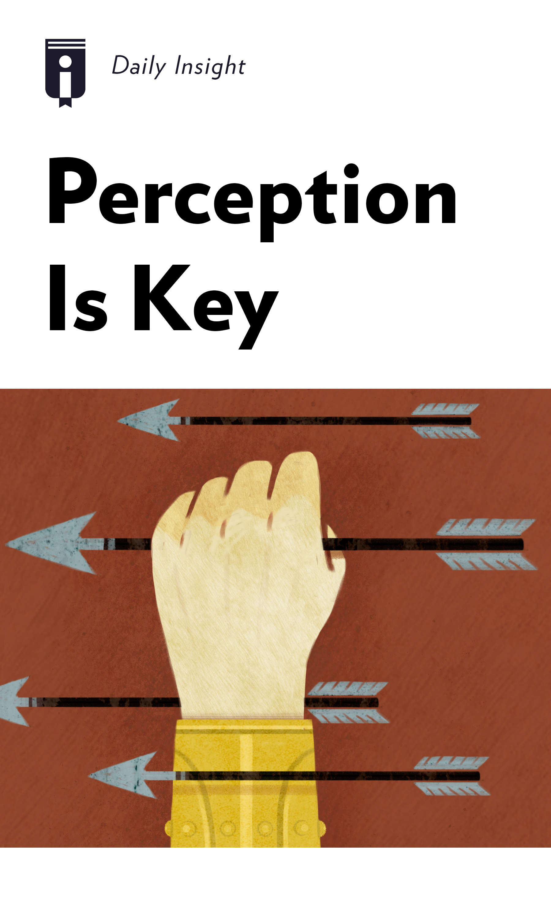 """Book Cover for """"Perception is Key"""""""