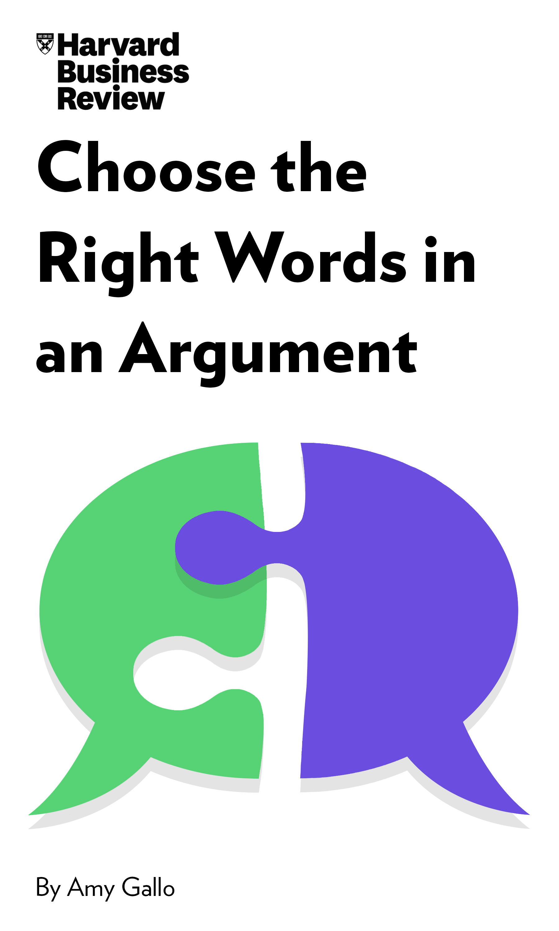 "Book Cover for ""Choose the Right Words in an Argument"""