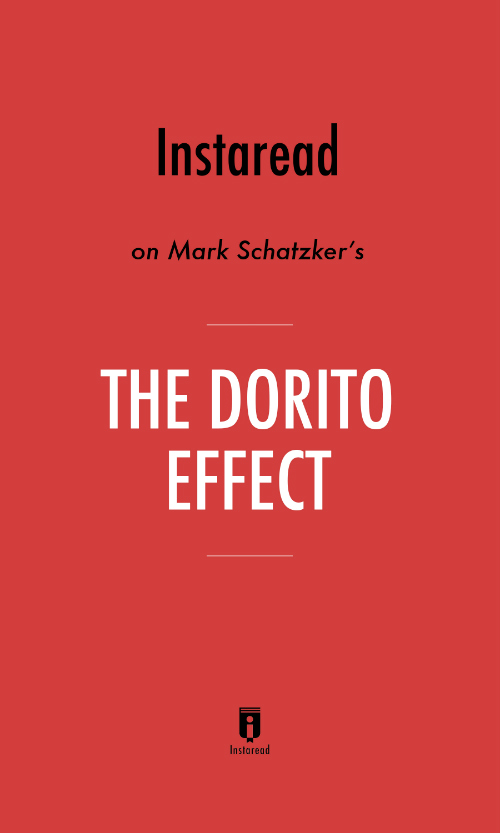 "Book Cover for ""The Dorito Effect"""