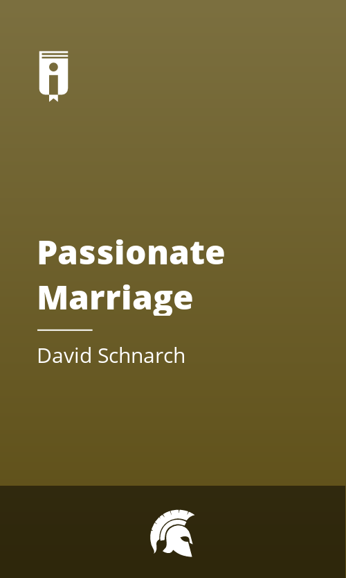 "Book Cover for ""Passionate Marriage"""