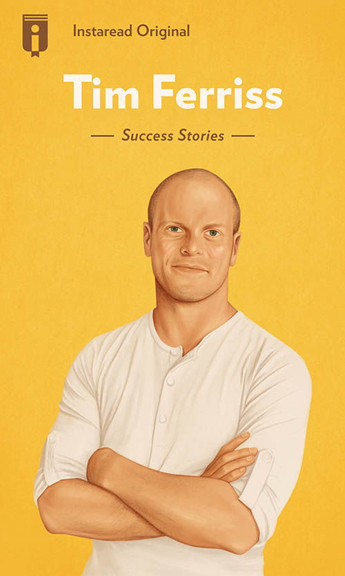 "Book Cover for ""Tim Ferriss"""