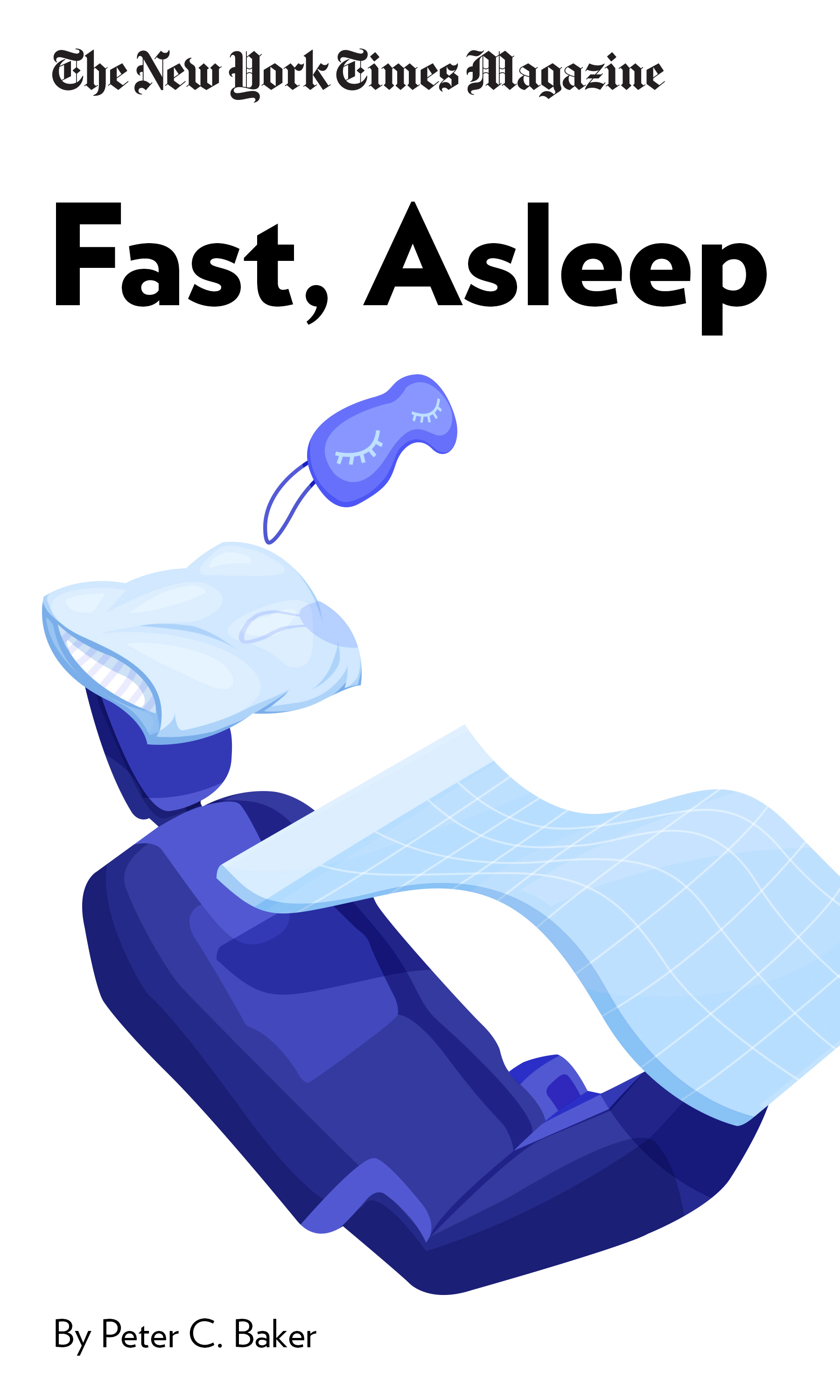 """Book Cover for """"Fast, Asleep"""""""