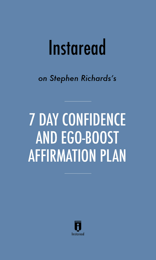 "Book Cover for ""7 Day Confidence and Ego-Boost Affirmation Plan"""