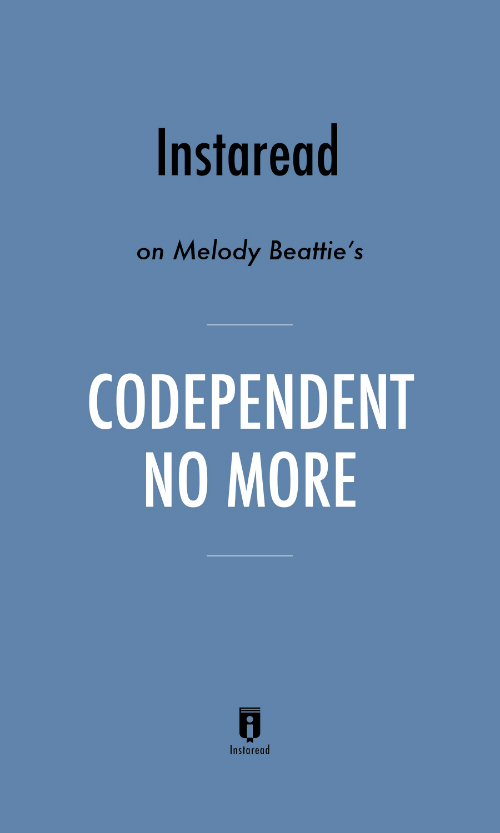 "Book Cover for ""Codependent No More"""