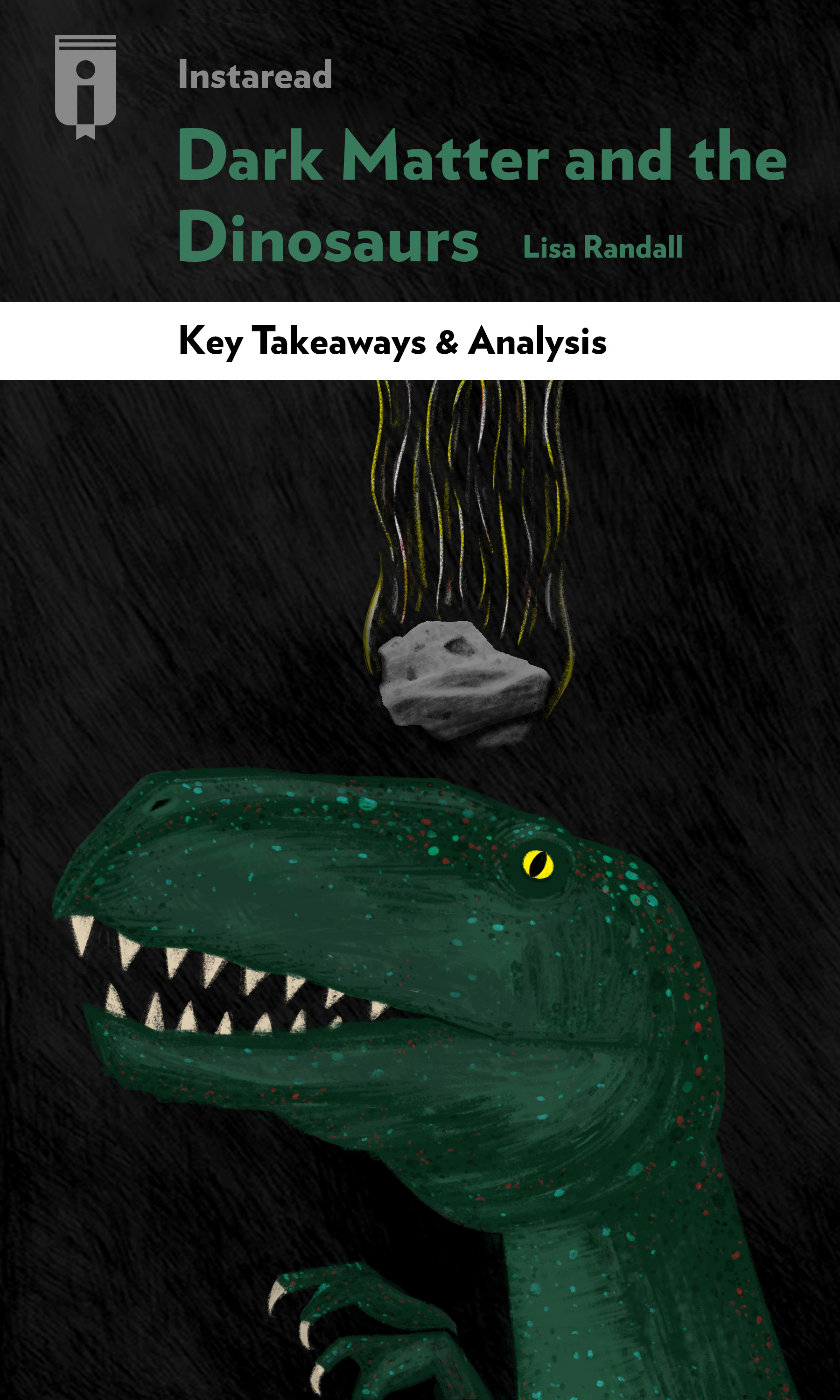 "Book Cover for ""Dark Matter and the Dinosaurs"""