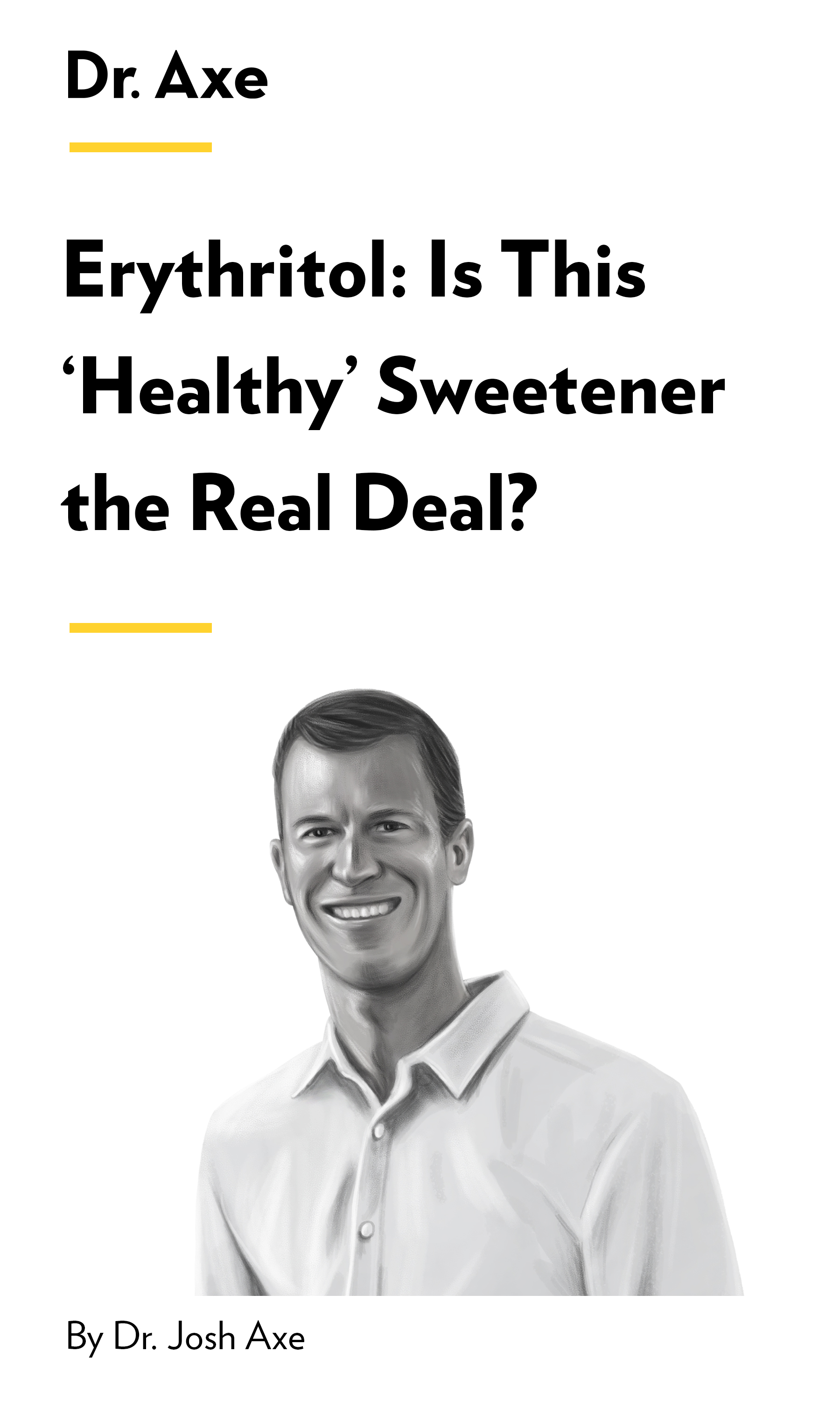 """Book Cover for """"Erythritol: Is This 'Healthy' Sweetener the Real Deal?"""""""