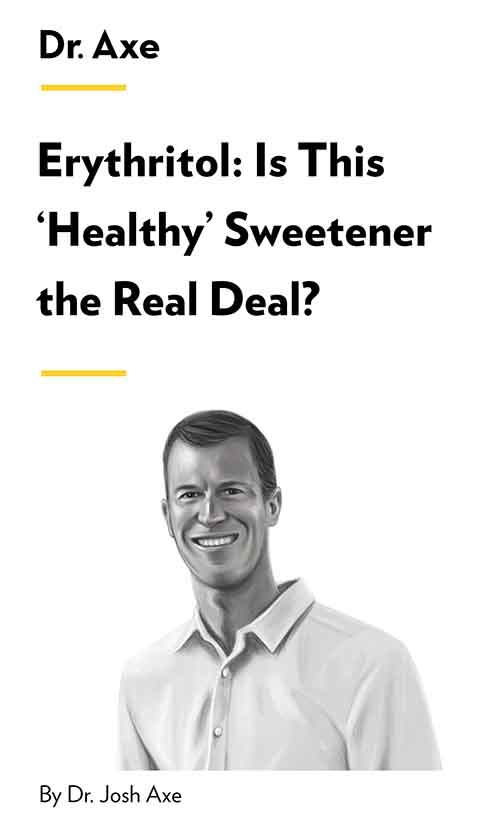 "Book Cover for ""Erythritol: Is This 'Healthy' Sweetener the Real Deal?"""