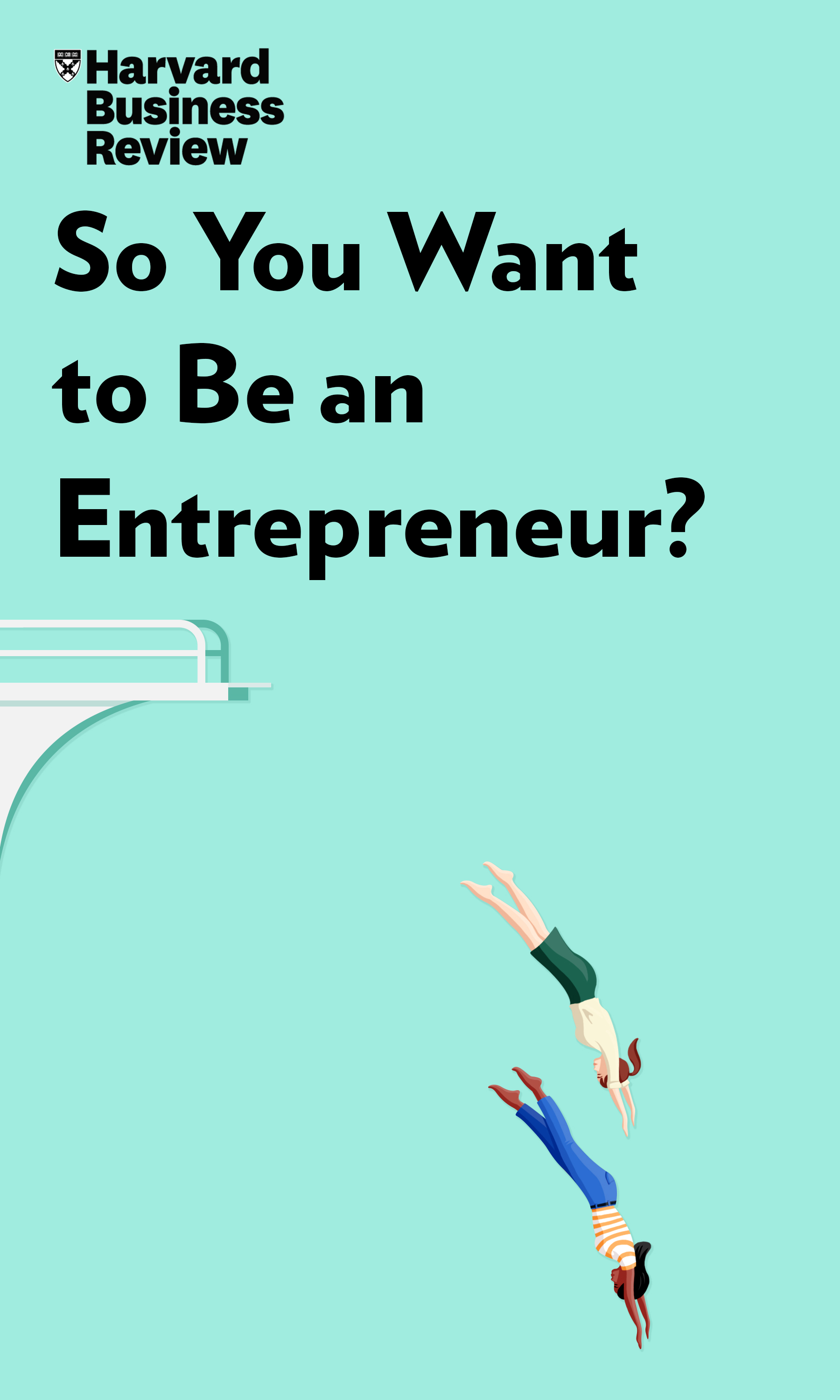 "Book Cover for ""So You Want to Be an Entrepreneur?"""