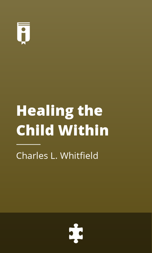 """Book Cover for """"Healing the Child Within"""""""