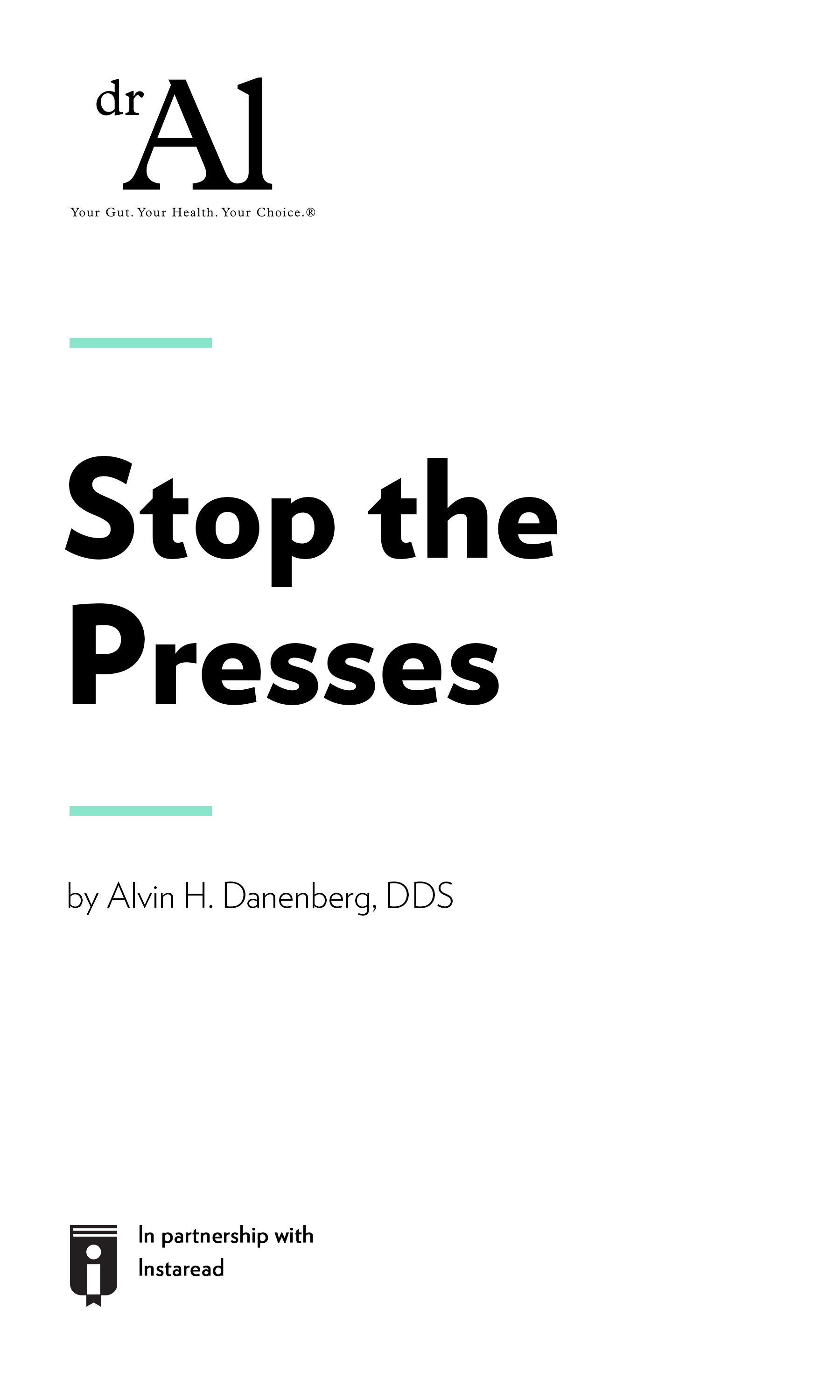 "Book Cover for ""Stop the Presses"""