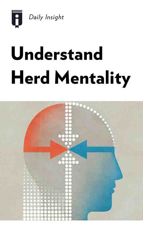 """Book Cover for """"Understand Herd Mentality"""""""
