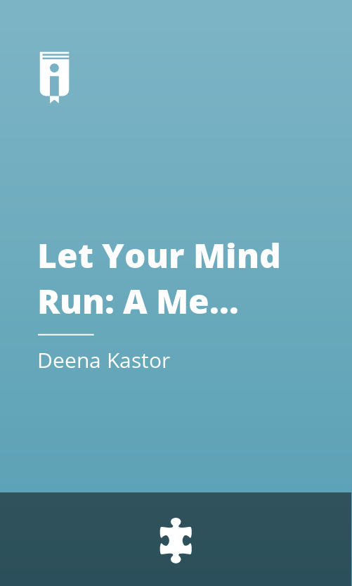"""Book Cover for """"Let Your Mind Run: A Memoir of Thinking My Way to Victory"""""""