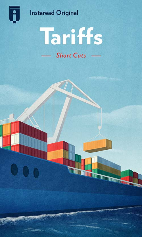"Book Cover for ""Tariffs"""