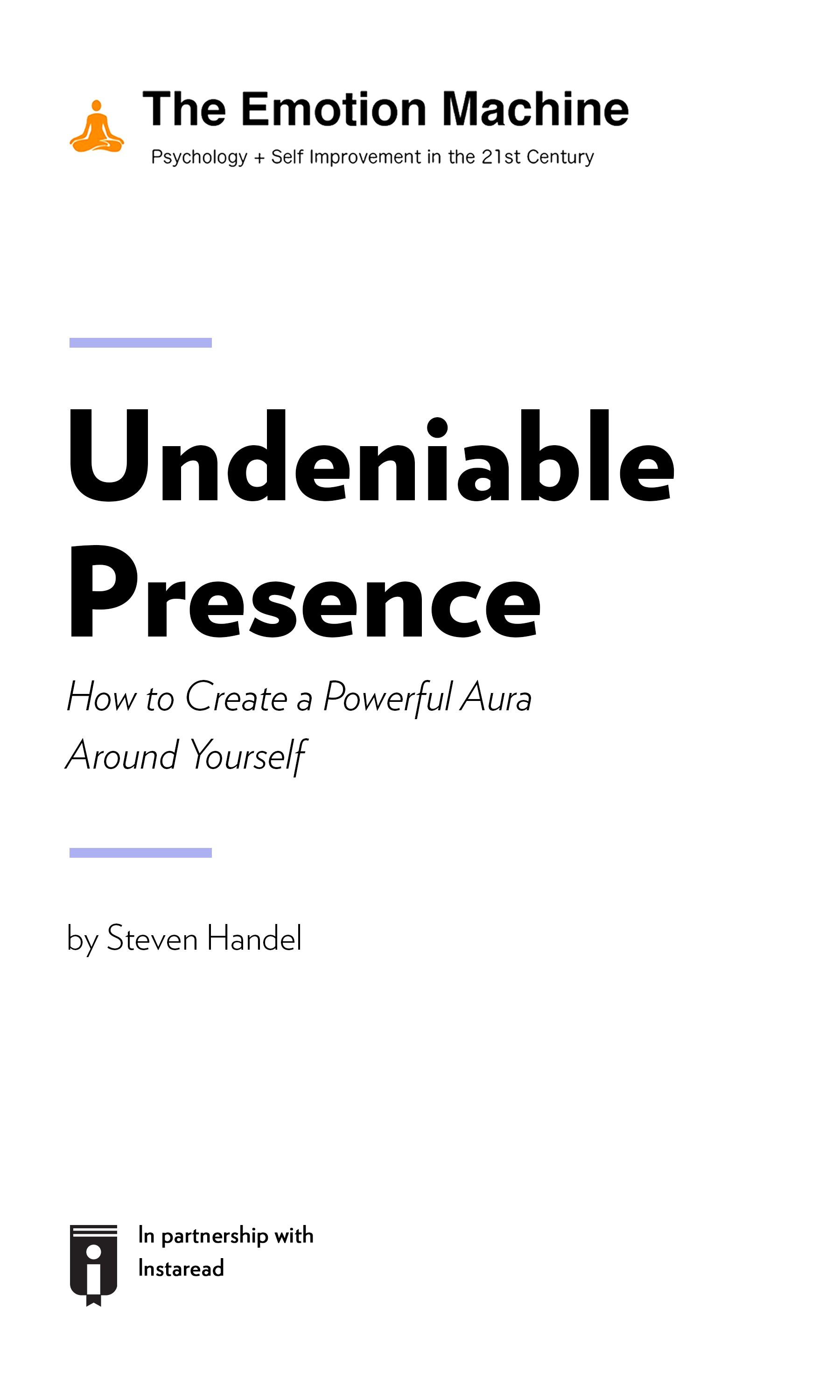 "Book Cover for ""Undeniable Presence: How to Create a Powerful Aura Around Yourself"""
