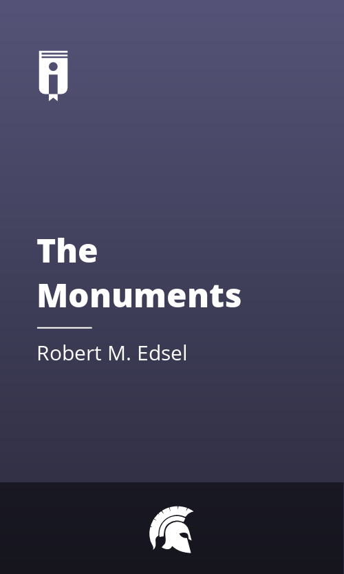"""Book Cover for """"The Monuments Men"""""""